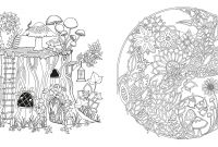 Johanna Basford Coloring Pages - Enchanted forest An Inky Quest & Coloring Book Us Import Amazon