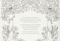 Johanna Basford Coloring Pages - Enchanted forest An Inky Quest & Colouring Book Amazon