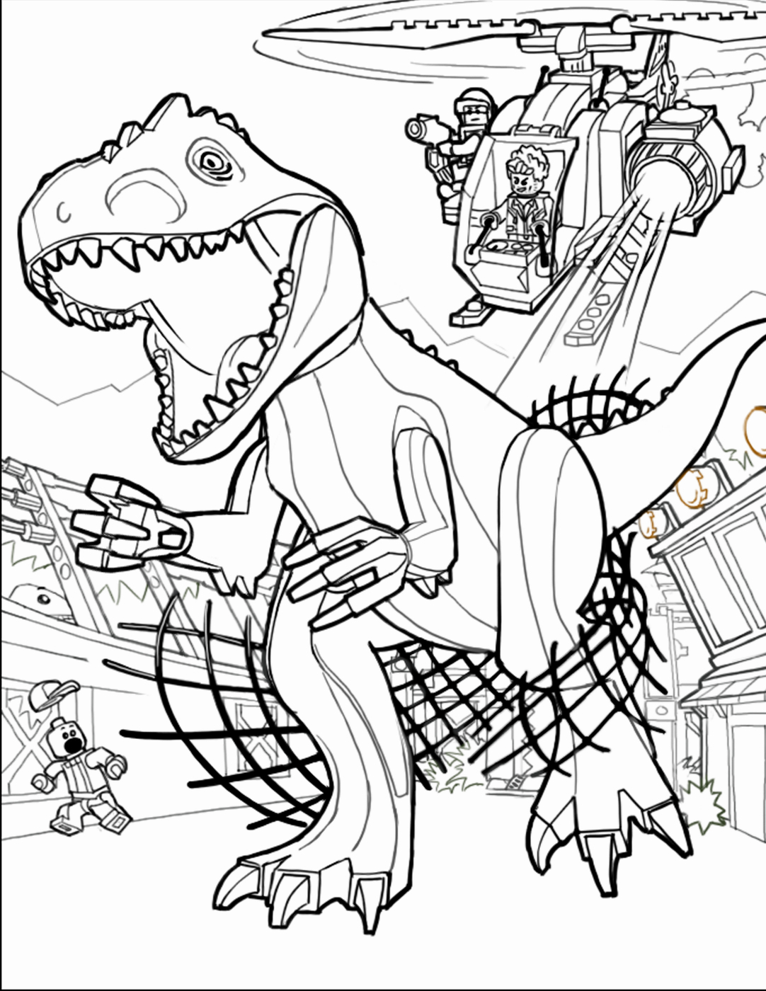 Jurassic Park Coloring Pages  Download 9r - To print for your project