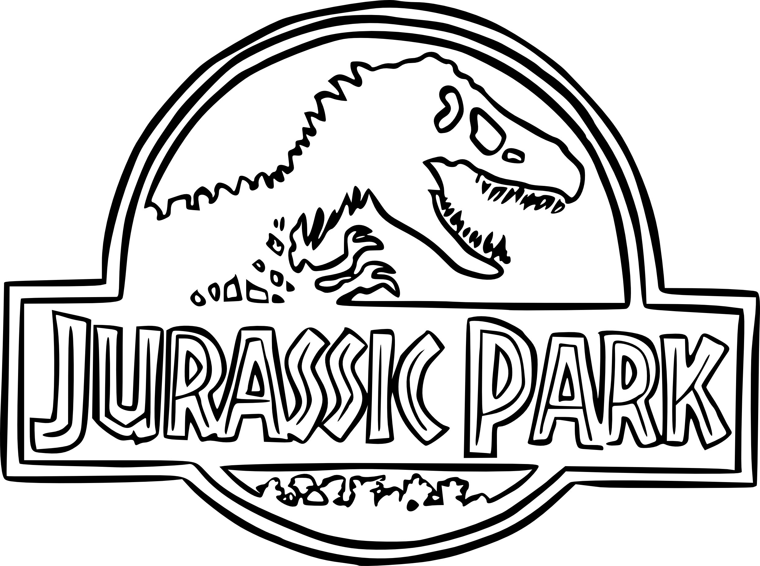 Jurassic World Coloring Pages to Print   Free Coloring Sheets