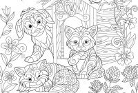 Kittens Coloring Pages - Coloring Pages Free Printable Coloring Pages for Children that You