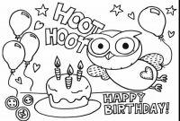 Labor Day Coloring Pages Free Printable - 25 Free Printable Happy Birthday Coloring Pages