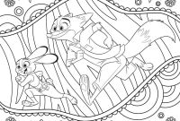 Lady and the Tramp Coloring Pages - Disney S Zootopia Imágenes Zootopia Coloring Page Hd Fondo De