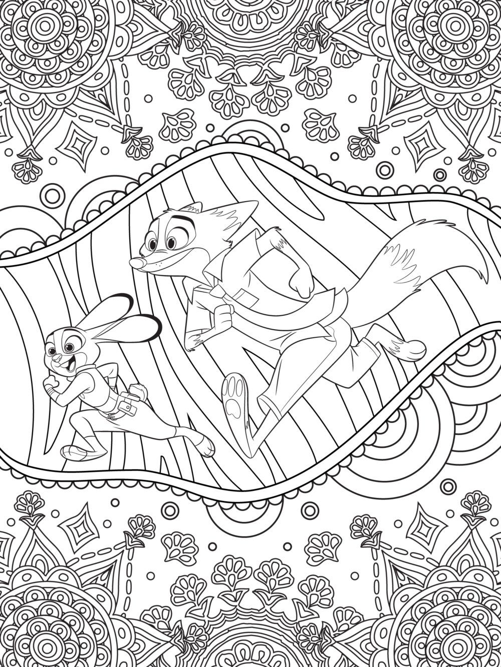 Lady and the Tramp Coloring Pages  Download 3c - Save it to your computer
