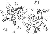 Legendary Pokemon Coloring Pages - Awesome Pokemon Mega Coloring Pages Collection