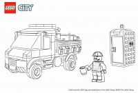 Lego City Coloring Pages - 25 Best Coloring Pages Police Station