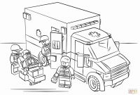 Lego City Coloring Pages - Classic Lego City Coloring Page