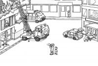 Lego City Coloring Pages - Lego Truck Coloring Pages Coloring Pages for Boys Lego Printable
