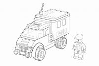 Lego City Coloring Pages - Lego Truck Coloring Pages Lego City Coloring Pages Lovable Lego City