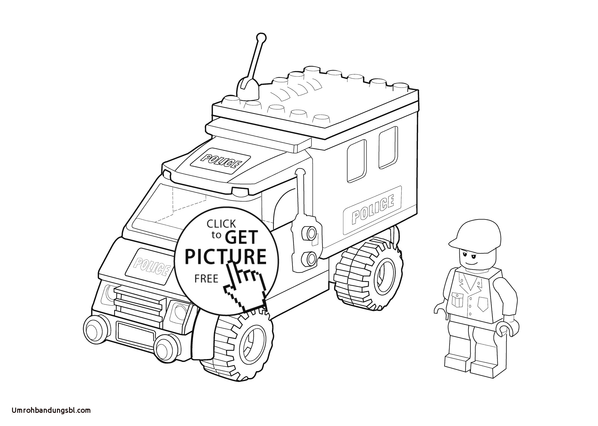 Lego Police Coloring Pages  Download 6b - Free Download
