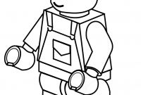 Lego Police Coloring Pages - Lego Juniors Construction Worker Coloring Page Pages In Yintan