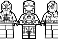 Lego Spiderman Coloring Pages - 15 New Lego Marvel Superheroes Coloring Pages