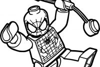 Lego Spiderman Coloring Pages - Spiderman Coloring Pages