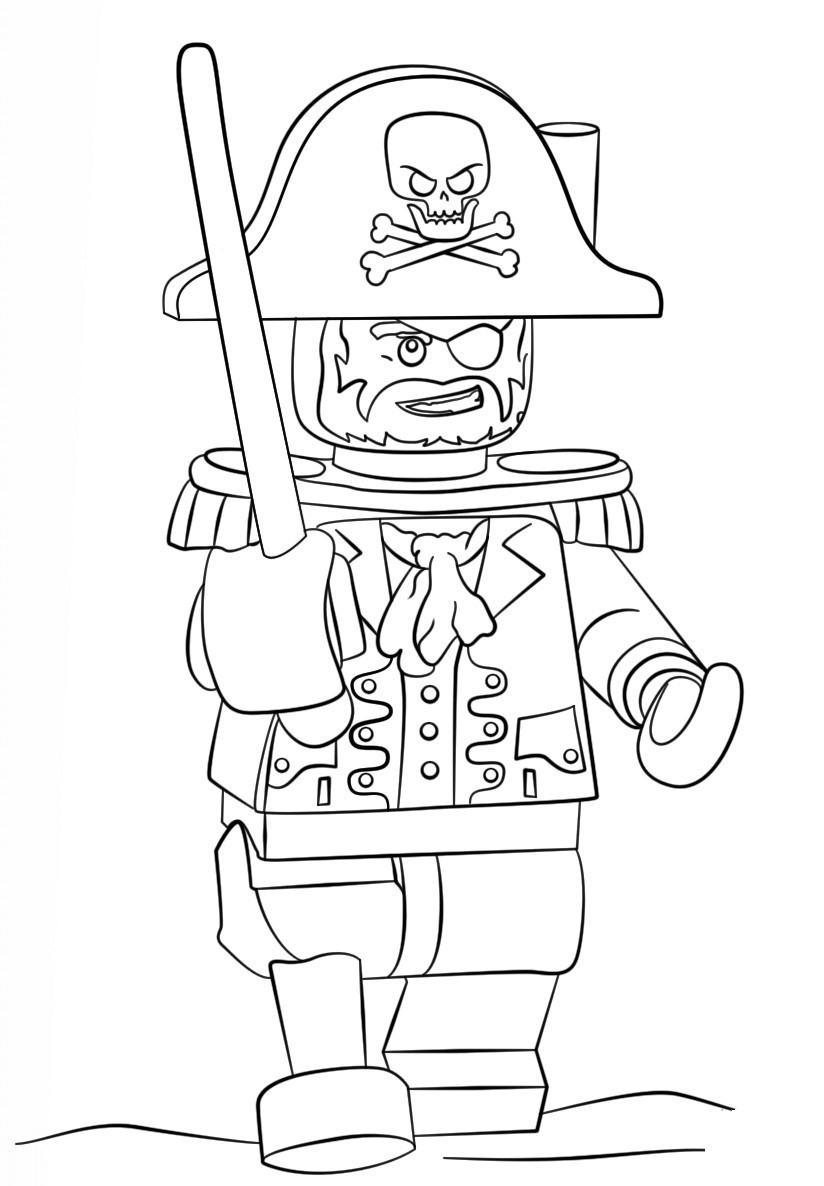 Lego Superhero Coloring Pages  to Print 11o - Save it to your computer