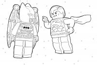 Lego Superhero Coloring Pages - 20 Awesome Lego Batman Coloring Pages