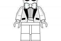 Lego Superhero Coloring Pages - Finish Drawing Dick Grayson the Lego Batman Movie