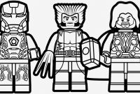 Lego Superheroes Coloring Pages - Printable Thor Coloring Pages