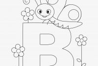 Letter B Coloring Pages - Abc Coloring Pages for Kindergarten Letter Color Pages Fresh Abc