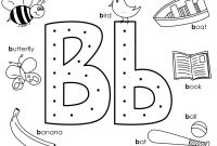 Letter B Coloring Pages - Collection Of B Colouring Pages