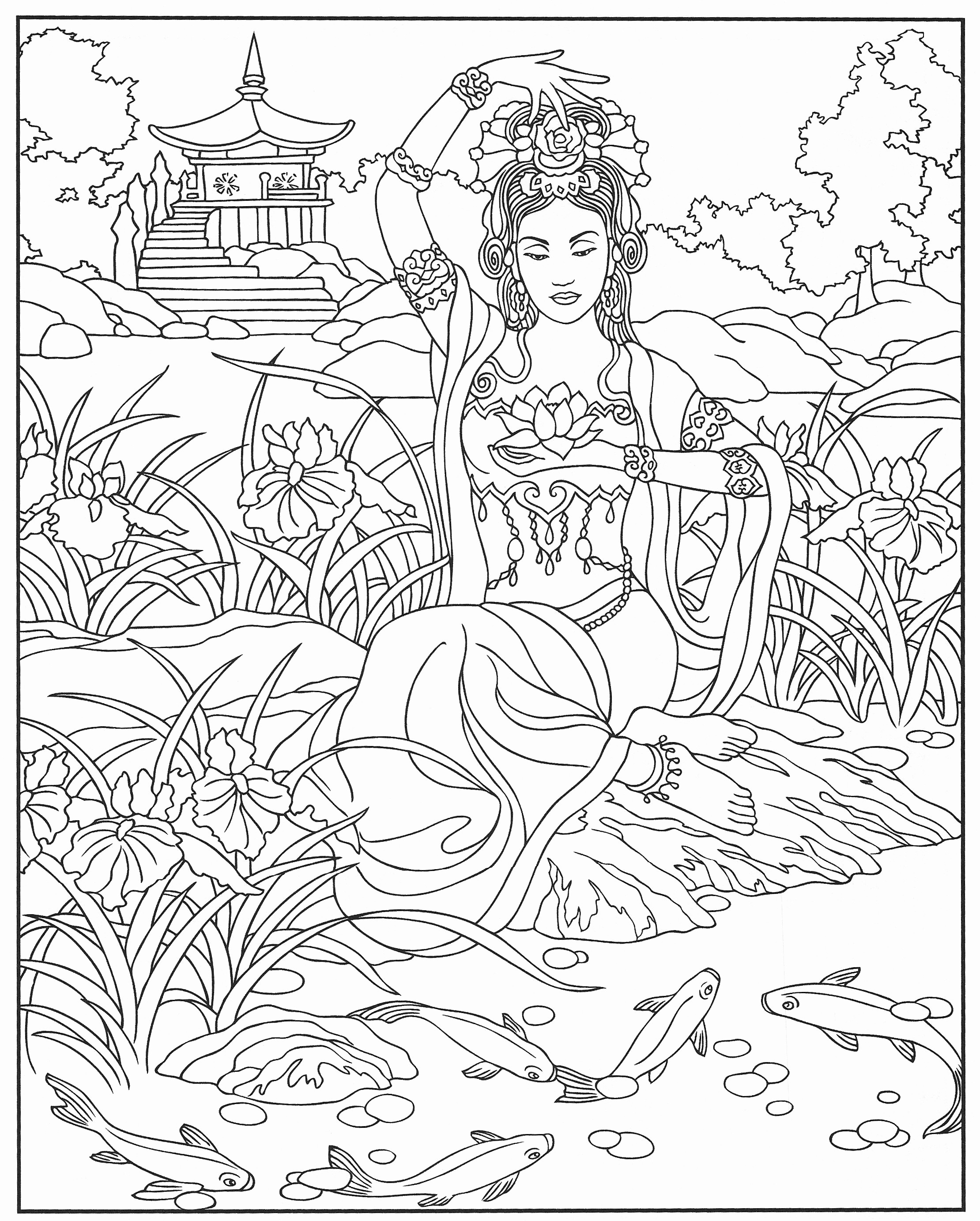 Library Coloring Pages  Printable 17n - Free Download