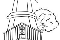Lighthouse Coloring Pages - Printable Lighthouse Coloring Pages to Print