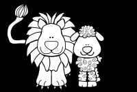 Lion and Lamb Coloring Pages - Free Art Lion Download Free Clip Art Free Clip Art On Clipart Library