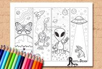 Lion and Lamb Coloring Pages - Instant Download Coloring Page Space theme Color Your Own