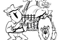 Lion and Lamb Coloring Pages - L for Lion Coloring Page