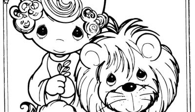 Lion and Lamb Coloring Pages - Tattoo Idea the Lion and Lamb Represent My Children their