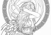 Liv and Maddie Coloring Pages - Gothic Dark Fantasy Coloring Book Fantasy Art Coloring by Selina