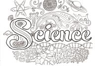 Mad Scientist Coloring Pages - Science Coloring Pages Free Printable Cool for Kindergarten
