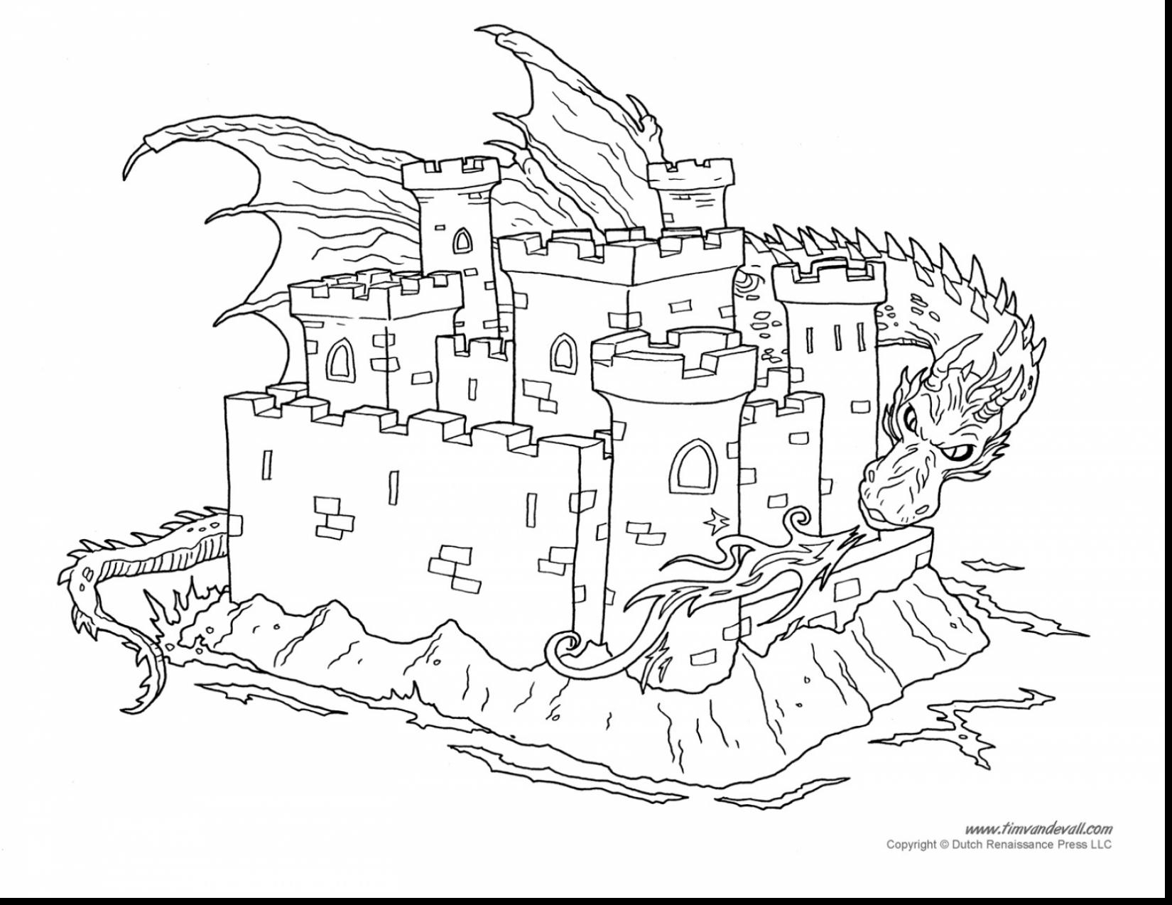 Magic Kingdom Coloring Pages  to Print 18b - Free Download