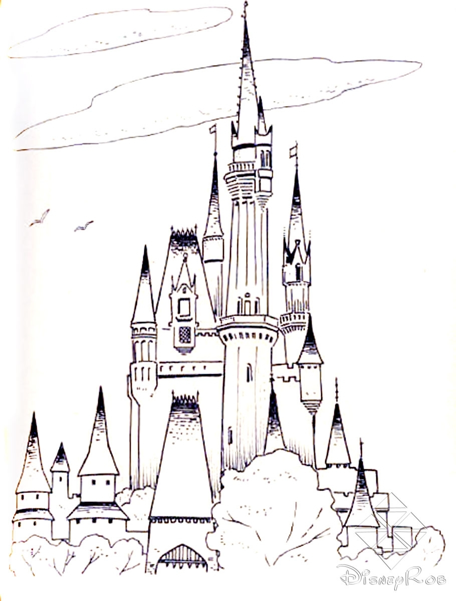 Magic Kingdom Coloring Pages to Print   Free Coloring Sheets