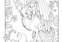 Magic Kingdom Coloring Pages - Do You Love Mythical Animals This Adult Coloring Page is From