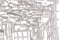 Magic Tree House Coloring Pages - Cityscape Coloring Page Hashtag Bg