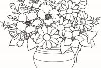 Magnolia Coloring Pages - Flower In A Vase Beautiful Flowers Coloring Pages Luxury Cool Vases