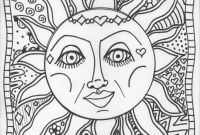 Make Your Own Coloring Pages From Photos Free - Unique Sun Coloring Sheet Design