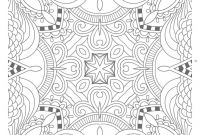 Marker Coloring Pages - Adult Coloring Pages Patterns Printable