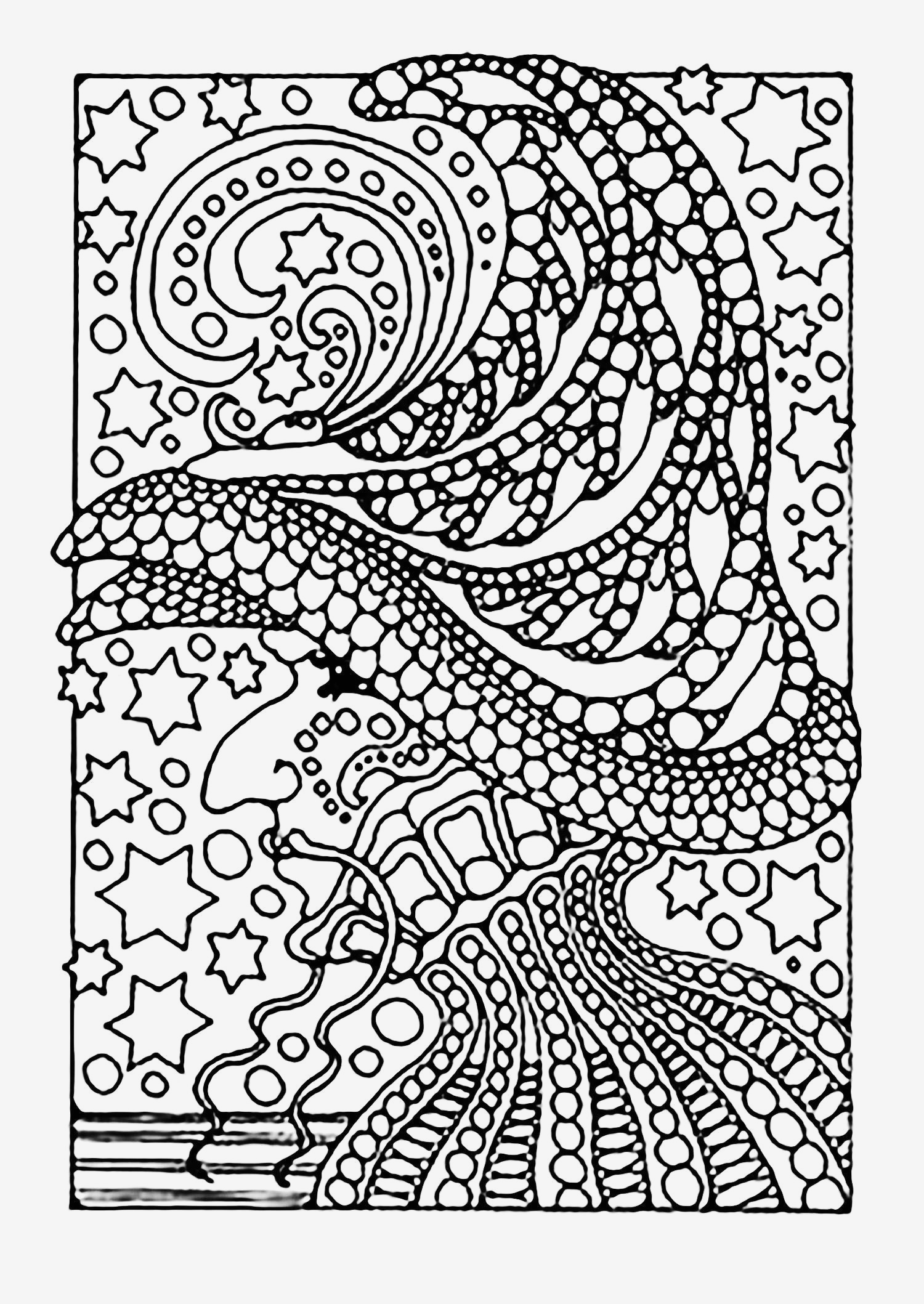 Marker Coloring Pages  Collection 1m - Free For Children