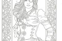 Marty Noble Coloring Pages - Adult Coloring Page From Creative Haven Steampunk Fashions Coloring
