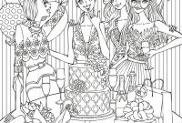 Marty Noble Coloring Pages - Fashion Coloring Page