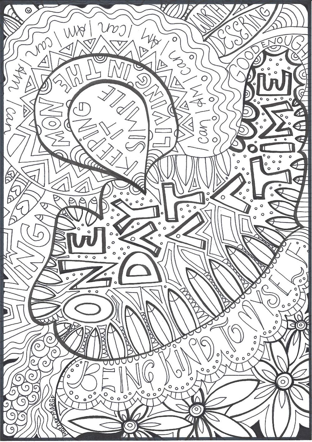 Mary Engelbreit Coloring Pages Printable   Free Coloring ...