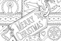 Mary Engelbreit Coloring Pages - Merry Christmas Colouring Page