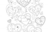 Mary Engelbreit Coloring Pages - Valentine S Coloring Page Cards Valentine S