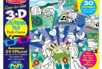 Melissa and Doug Coloring Pages - Amazon Melissa & Doug Easy to See 3 D Kids Coloring Pad