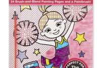 Melissa and Doug Coloring Pages - Amazon Melissa & Doug My First Paint with Water Art Pad