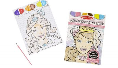 Melissa and Doug Coloring Pages - Amazon Melissa & Doug Paint with Water Pretty Princesses 20