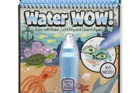 Melissa and Doug Coloring Pages - the Go Water Wow Water Reveal Activity Pad – Under the Sea