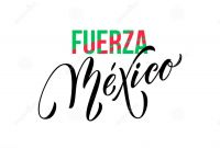 Mexican Independence Day Coloring Pages - Fuerza Mexico Lettering Independence Day Mexican Vector National