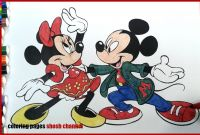 Mickey Clubhouse Coloring Pages - Disney Coloring Pages Mickey Mouse and Minnie Mouse Dancing From